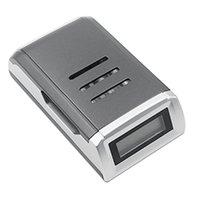 10 шт. 4 слота ЖК дисплей Smart Зарядное устройство для AA/AAA NiCd NiMh Перезаряжаемые батареи