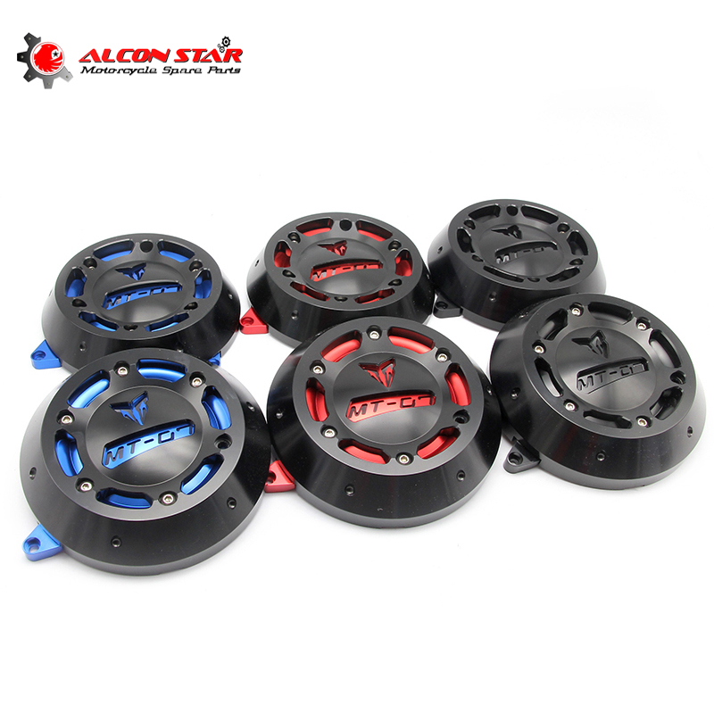 Alconstar- Motorcycle MT07 Engine Stator Case Cover Engine Protective Cover Protector Case For YAMAHA MT-07 MT07 FZ07 2014-2016 alconstar motorcycle mt07 engine stator case cover engine protective cover protector case for yamaha mt 07 mt07 fz07 2014 2016