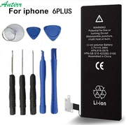 Antirr Brand Battery For Apple iPhone 6 Plus 6Plus 5.5inch 2915mAh Real Capacity With Machine Tools Kit Replacement Battery #10 1