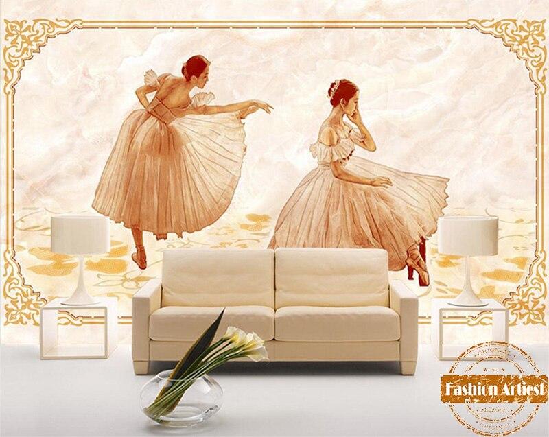 papier-peint-3d-classique-personnalise-vintage-europe-danse-royale-font-b-ballet-b-font-filles-chambre-a-coucher-de-television-canape-de-salon-cafe-bar-restaurant