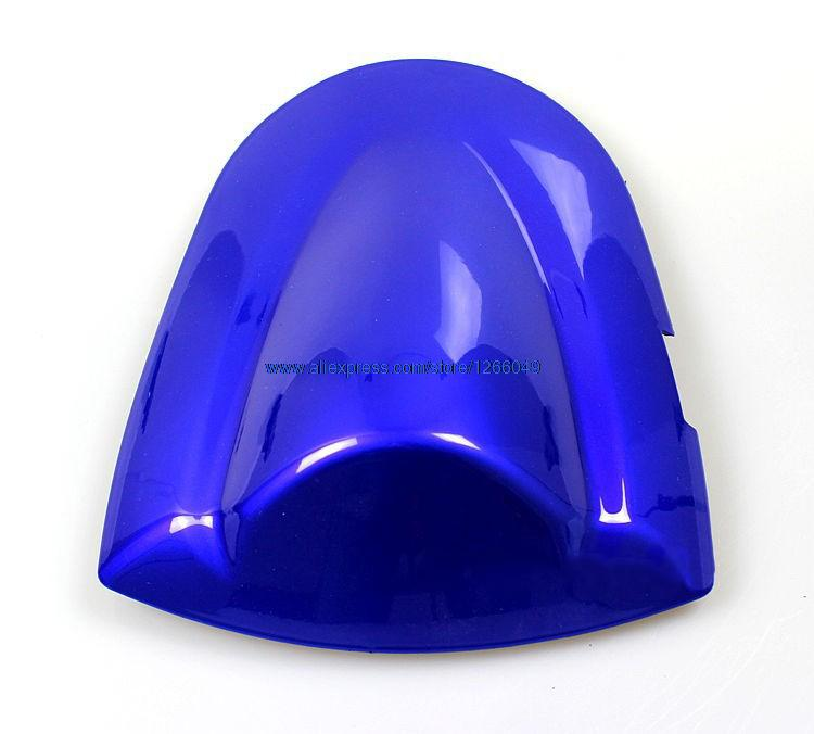 Motorcycle Rear Seat Cover Blue fit for SUZUKI GSXR 600 750 for Suzuki GSXR600 2006 - 2007