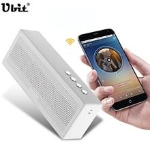 Ubit Беспроводной Bluetooth Динамик сабвуфер с hands-free открытый Портативный карты MP3 музыка 3.5 мм аудио Динамик для телефона компьютер