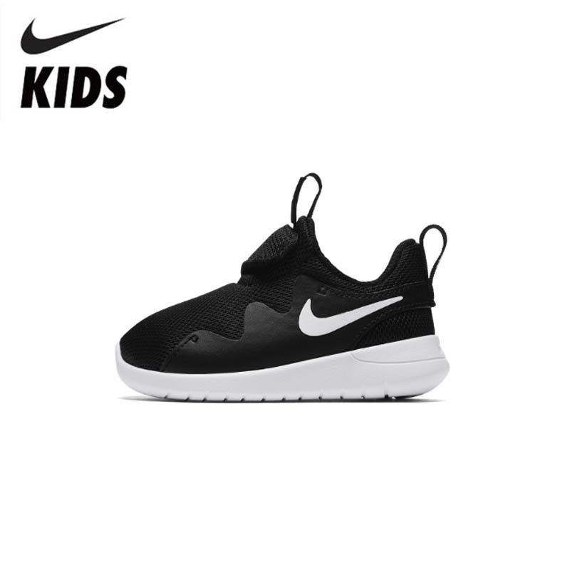 NIKE TESSEN (TD) Original New Arrival Kids Shoes Breathable Children Running Shoes Outdoor Sports Sneakers #AH5233