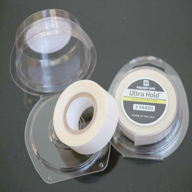 20 rouleaux/lot en gros ULTRA tenir la bande forte double bande pour la trame de peau/trame dunité centrale/toupees/perruques