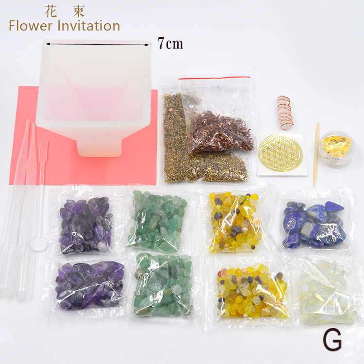 Flower Invitation Manual  DIY Pyramid Novice Package Foundation Bag Package Kit
