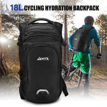 18L Lightweight Cycling Backpack Hydration Pack Breathable Daypack for Hiking Camping Running with Rain Cover