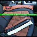 2 PCS Pu Almofada Do Assento de Carro Gap Filler Macio M Poder M desempenho Para for Bmw X1 X3 X5 X6 F30 F10 F18 E39 E46 E60 M3