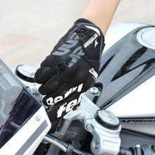Cycling Gloves Summer Full Finger Gloves Thin Breathable Touch Screen Motorcycle Riding Protective Glove sahoo 42890 breathable touch screen full finger cycling gloves black blue xl pair