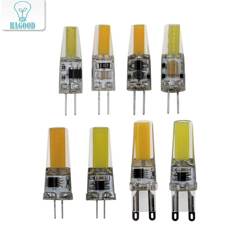 G4 G9 LED Light Bulb AC12V 220V COB SMD 6W 9W 360 Beam Angle Chandelier Lights Replace Halogen Spotlight Chandelier Lamps