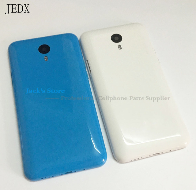 JEDX Original for Meizu M1 Note Back Cover Battery Door Case Housing with Antenna Camera Lens Power Volume Button