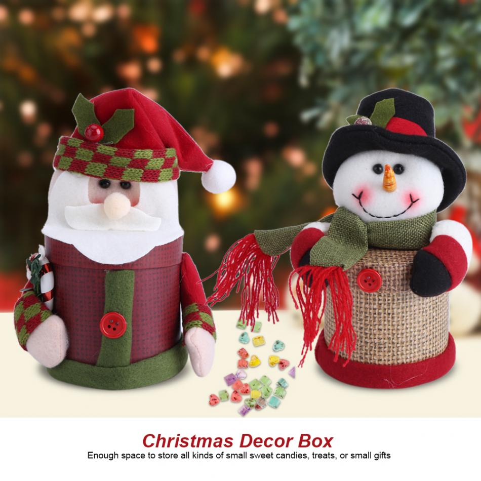 Lovely Christmas Gift Candy Box Sweets Gift Favor Boxes Treat Bags ...