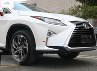Yimaautotrim Auto Accessory Front Fog Lights Foglight Lamp Cover Trim Fit For Lexus RX200t RX450h 2016 2017 2018 2019 / ABS