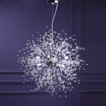 hot deal buy gdns chandeliers firework led light stainless steel crystal chandelier lighting ceiling light fixtures chandeliers lighting foye