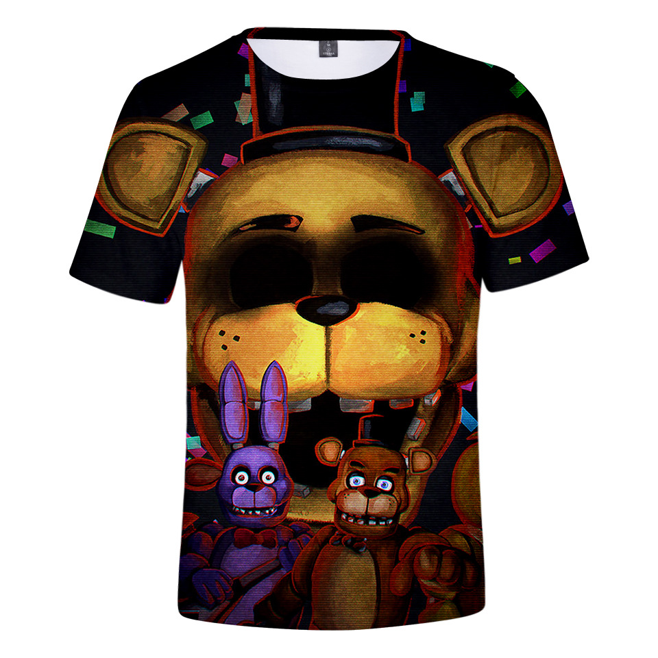 NEW Authentic Five Nights At Freddy/'s Youth Kid T-Shirt FNAF S,M,L,XL