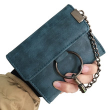 New Women Wallets Brand Design Lady Purses Cards Holder Handbags Moneybags  Short Coin Purse Female Casual 922834f99fc19