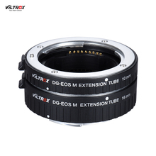 VILTROX Automatic Extension Tube Ring 10mm and 16mm Auto Focus Lens Adapter for Canon EF M Mount Series Camera and Lens