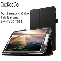 For Samsung Galaxy Tab E 9 6inch Slim Folding Cover Case For Samsung Galaxy Tab E