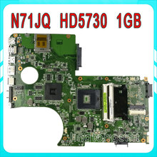 N71J N71JQ Laptop motherboard For Asus N71JA REV2.0 Mainboard Support i3/i5/i7 Processor HD5730 1GB 216-0772003 fully tested