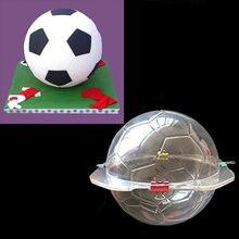 3D форма для футбола, форма для шоколада, конфеты, Сахарная паста, инструменты для украшения тортов для дома, форма для выпечки торта, кухонны...