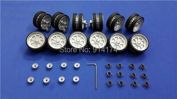 henglong 3899 3899-1 1/16 RC tank upgrade parts metal wheels hub set free shipping все цены