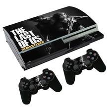 Последние из нас виниловые наклейки для sony PS3 жирная консоль скины для PS Playstation 3 контроллер наклейки водонепроницаемый чехол#2139