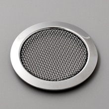 Chrome Iron Guitar Screened Resonator Screen Music Speaker Grille Sound Hole Repair Replacement
