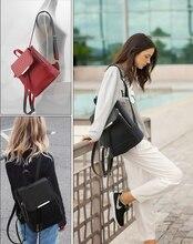 СПЕЦИАЛЬНОЕ ПРЕДЛОЖЕНИЕ!!! мода маленькие женщины кожа рюкзак школьные сумки для девочек-подростков путешествия pu сумка бесплатная доставка