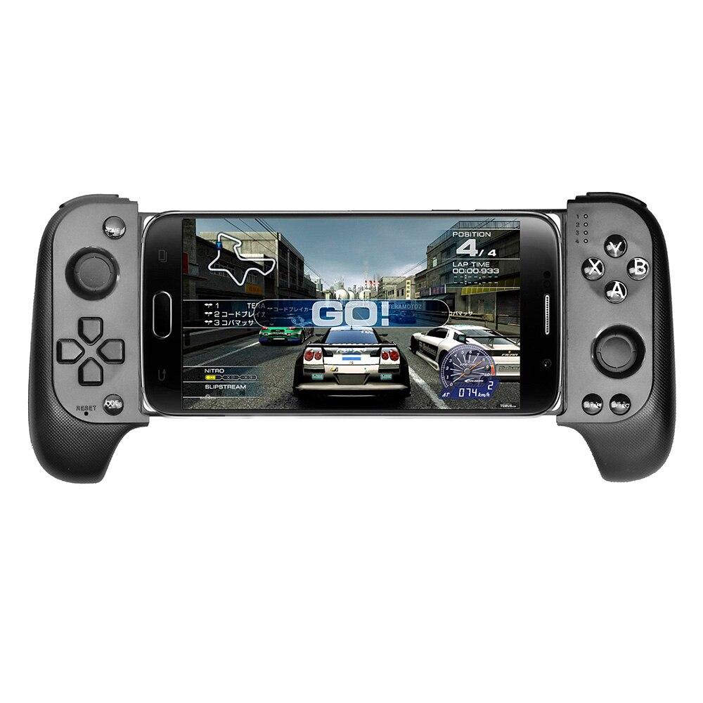 Atualizado saitake 7007f sem fio bluetooth controlador de jogo telescópico gamepad joystick para samsung xiaomi huawei android telefone pc