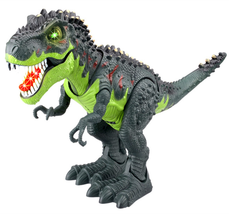 Clasic Educational toys large size walking Electric dinosaur robot toys With music Light Walk Sounds Model Toys for kids as gift hot sale 360 degree rotation smart space electric robot dancing music light toys best creative gift for kids children fl