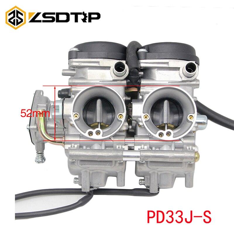 ZSDTRP 33mm Motorcycle Carburetor PD33J S For YAMAHA RAPTOR 660 660R YMF660 2001 2002 2003 2004