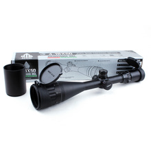 Tactical Leapers UTG 4-16X50 AOL 1 inch Hunting Riflescope Full Size Optical Sight Mil Dot Locking Resetting Rifle Scope