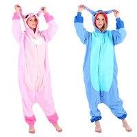 New Adult Animal Kigurumi Pajamas Costume Cosplay Blue Stitch angel lilo