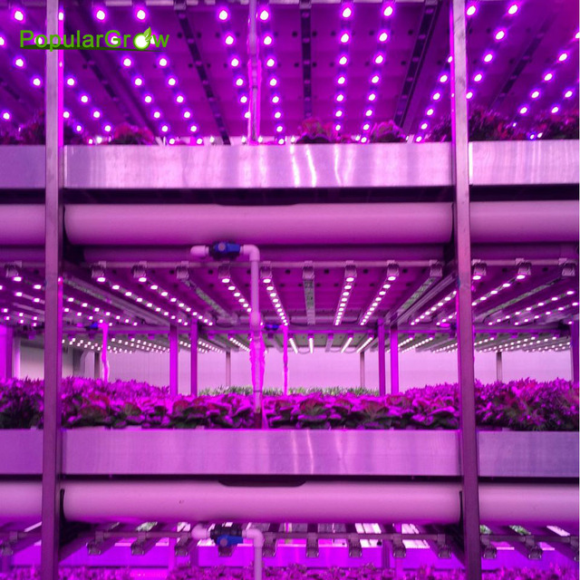 Populargrow54w81w108w waterproof led grow lights bar led plant populargrow54w81w108w waterproof led grow lights bar led plant strip lamp red aloadofball Image collections
