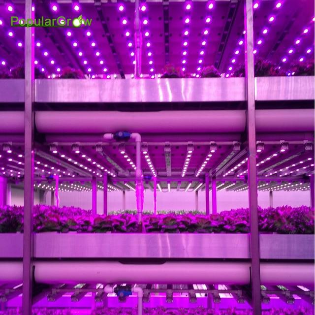 Populargrow54W/81W/108w Waterproof Led Grow Lights Bar LED Plant Strip Lamp  Red/