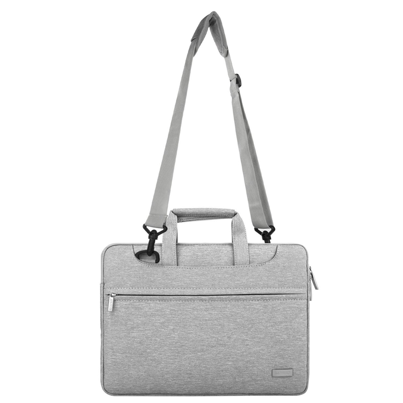 Image 4 - Laptop Bag 14 15.6 inch Waterproof Notebook Bag for Macbook Air Pro 13.3 15.4 Laptop Shoulder Bag for Woman Business Bag for Man-in Laptop Bags & Cases from Computer & Office