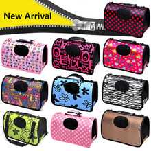 EVA Dog Carrier Foldable Outdoor Travel Bags for Small Puppy Cats Carrying Animal Pet Supplies 2019 PG1001