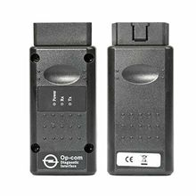 цена на New OP-Com opcom Firmware V1.7 2014V Can OBD2 Adapter for Opel Single Layer PCB