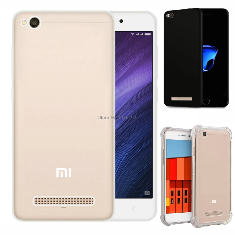 "Clear Transparent TPU Gel Rubber Soft Silicone Case For Xiaomi Redmi 4A 5.0"" Cover Ultra Thin Protective Skin Cover Coque Funda"