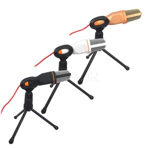 Image 5 - kebidumei SF 666 Handheld Microphone Professional 3.5mm Jack Wired Sound Stereo Mic With Stand Tripod For Desktop PC