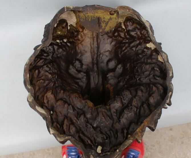 LUFA Ronda de Escultura De Madera Sujetador de Coco bot/ón Snaps Press Stud Ojal Costura Ropa Ropa Decoraci/ón DIY