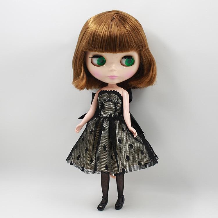 Neo Blythe Doll Black Dress 2