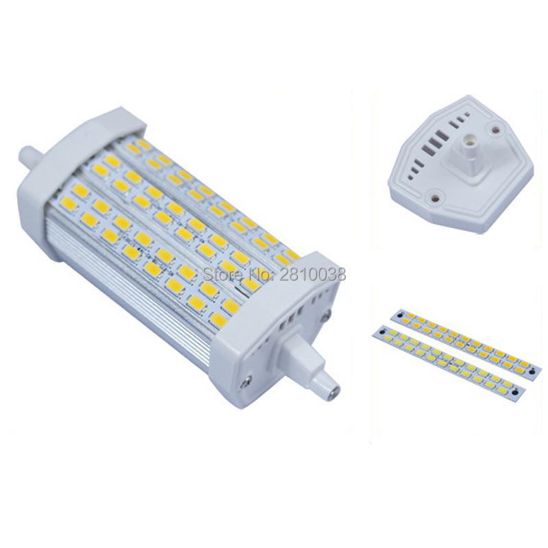 2 X 1 pcs/Lot Led R7s 118mm led R7s Lamp and Led R7s 78mm LED R7s 135mm dimmable Replace Halogen floodlight 1 pcs lot r7s led 15w 20w 25w 35w dimmable smd5730 118mm j118 led light bulb light lamp ac85 265v replace halogen floodlight