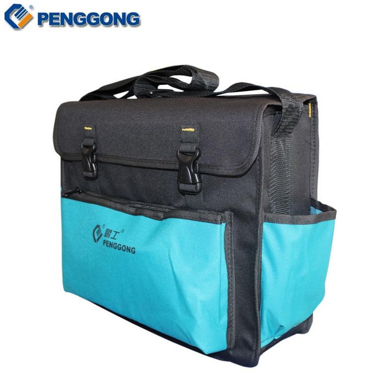 Storage Tools Bag Utility Shoulder Bag Electrical Package Waterproof Oxford Canvas Multifunction Repair Tool Bag