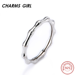 Charms girl bamboo joint shape round rings 925 sterling silver jewelry rings bamboo creativ round rings.jpg 250x250