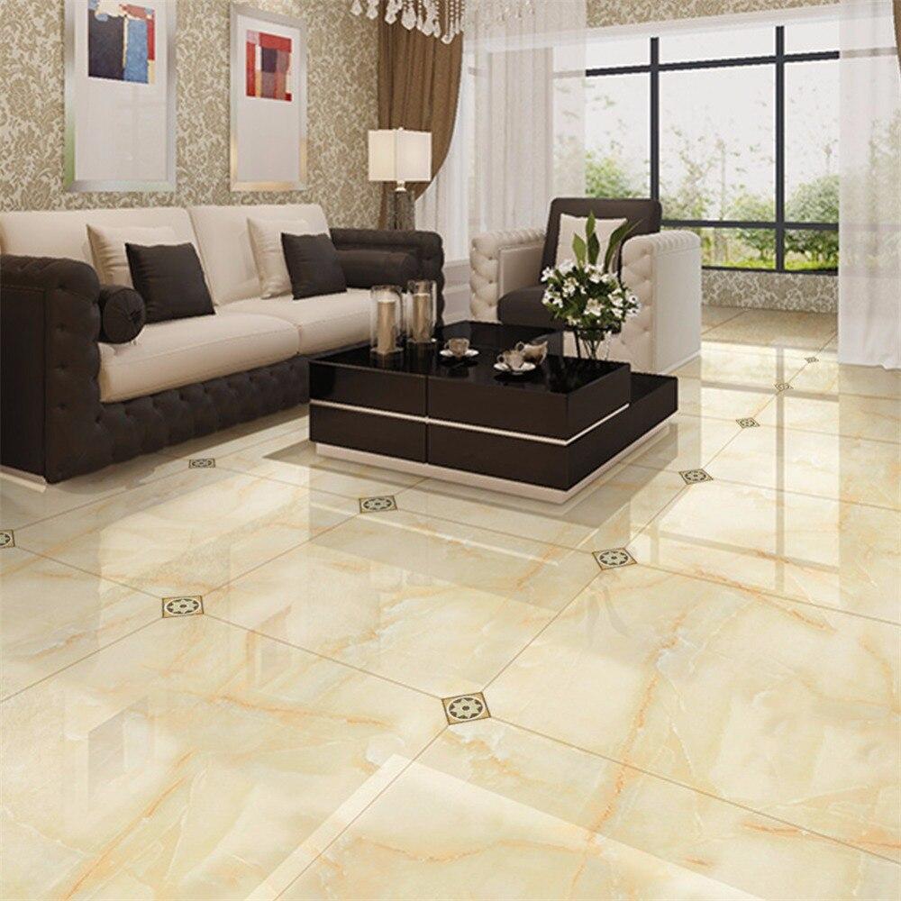 Floor Decor Backsplash: Yanqiao 3D Tile Sticker Diagonal Seam Floor Decor Living