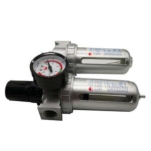 Image 2 - SFC 400 SFC 300 SFC 200 ضاغط الهواء فلتر الهواء منظم فاصل مياه زيتية فخ تصفية منظم صمام استنزاف التلقائي