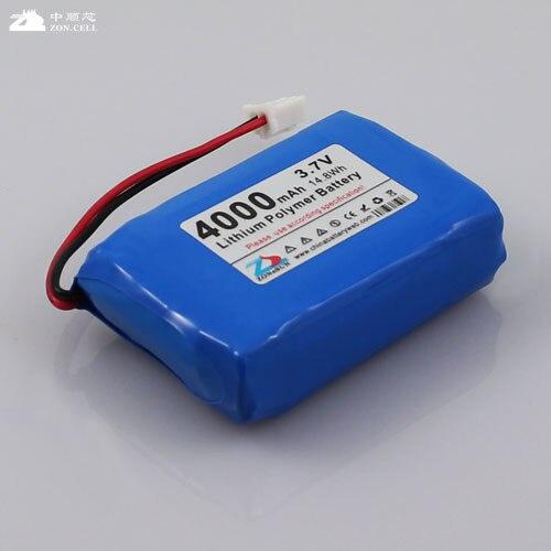 na Bateria de Polímero de Lítio de 4000mah Grupo Brinquedos Carregador Móvel Recarregável Li-ion Celular 3.7v 903450*2 903448