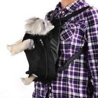 5 pcs of BEAU PLASTIC BAG BACKPACK WASHABLE FOR DOG BLACK SIZE L