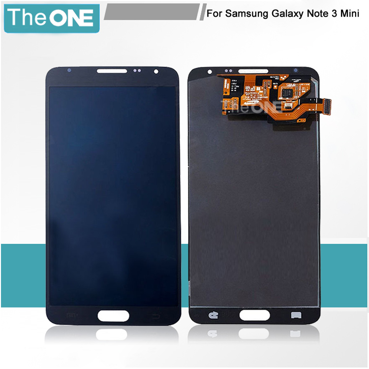 Free DHL 10Pcs /Lot Black and White LCD Display Panel Screen+Touch Screen Digitizer Glass Assembly For Samsung Note3 Mini N7505 10pcs free dhl oem no spot quality 10 1 lcd display with touch screen panel digitizer assembly for samsung galaxy note n8000