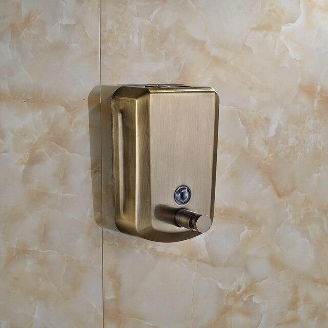 antike bronze dusche seifenspender wandmontage flssige lotion flasche shampoo dusche - Seifenspender Dusche Wandmontage